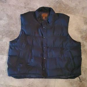 St. John's bay puffer vest 4xl black
